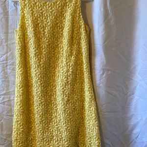 Lilly Pulitzer Yellow flowers dress